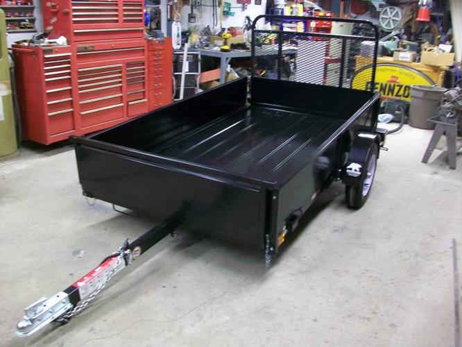 Utility Trailers For Sale Ontario >> BRAND NEW 4.5 x 8 FT SNOW BEAR UTILITY TRAILER WITH RAMP ...