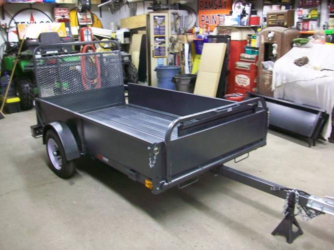 Utility Trailers For Sale Ontario >> BRAND NEW 4.5 x 8 FT SNOW BEAR UTILITY TRAILER WITH RAMP GATE! for sale in Cambridge, Ontario ...