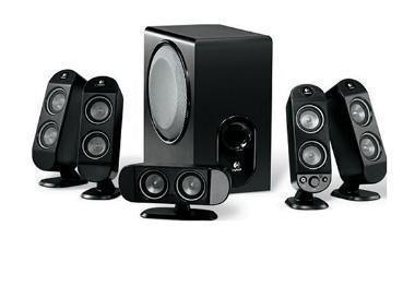 Brand New Logitech Surround Sound System X-530 - $350