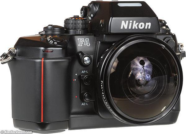 Brand new Nikon F4 original box.