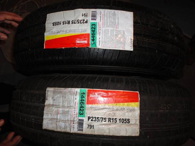 Brand New P235/75 R15 105S