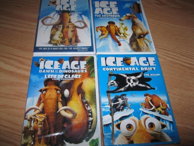 BRAND NEW & UNOPENED - 4 set of ICE AGE (All for ONLY $15