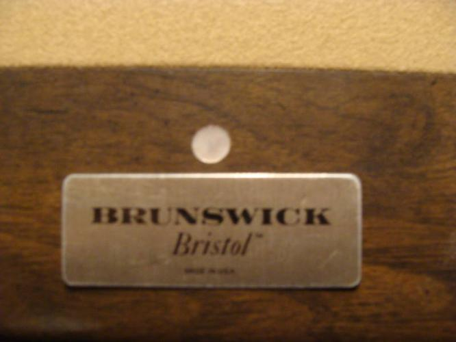 Brunswick Pool Table and all Accessories