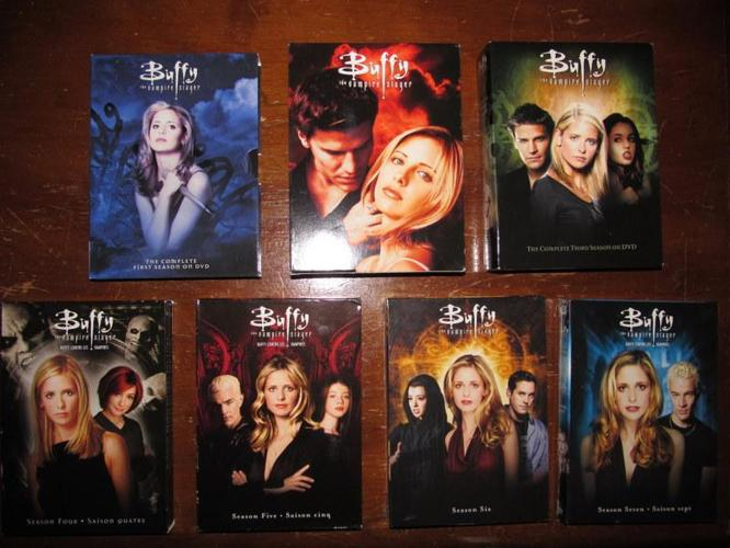 Buffy The Vampire Slayer entire series + MOVIE on DVD box sets