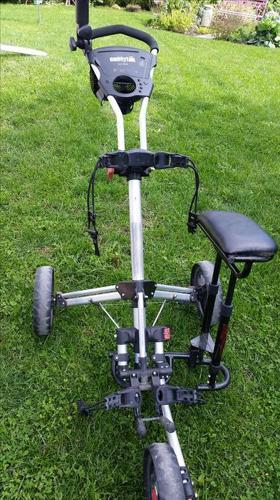 Caddytek caddy lite 13.5 golf push cart- 3 wheels