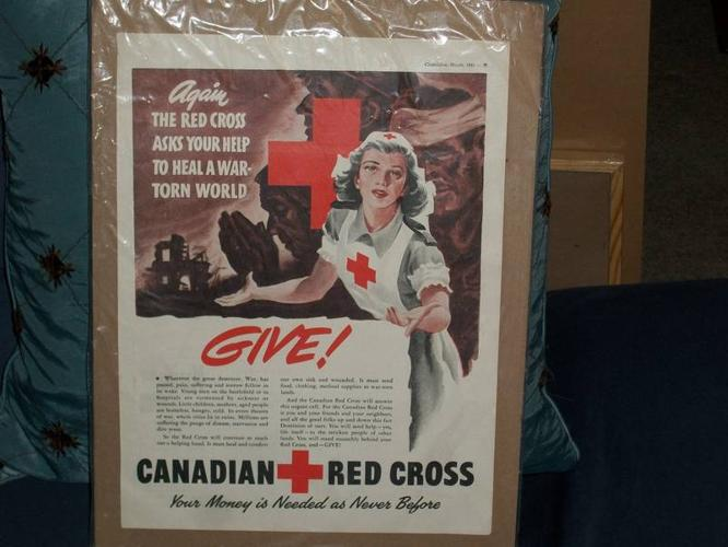 Canadian Red Cross Ad, 1945