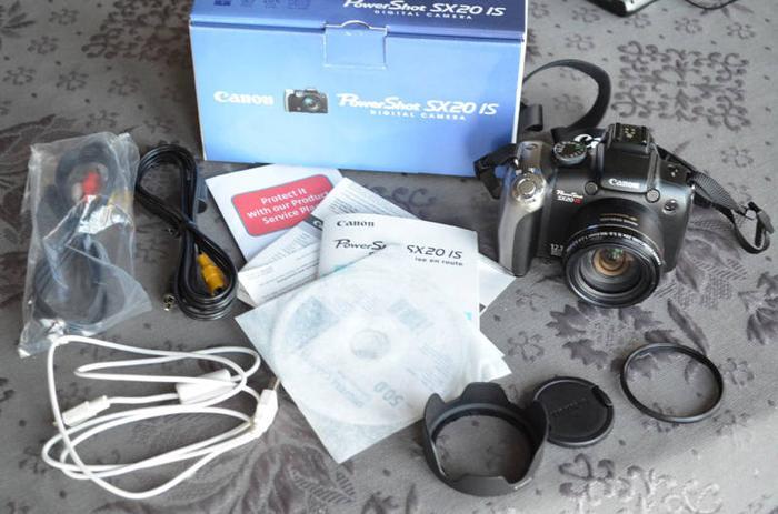 Canon Powershot SX20 IS Digital Camera with 2 YR Warranty