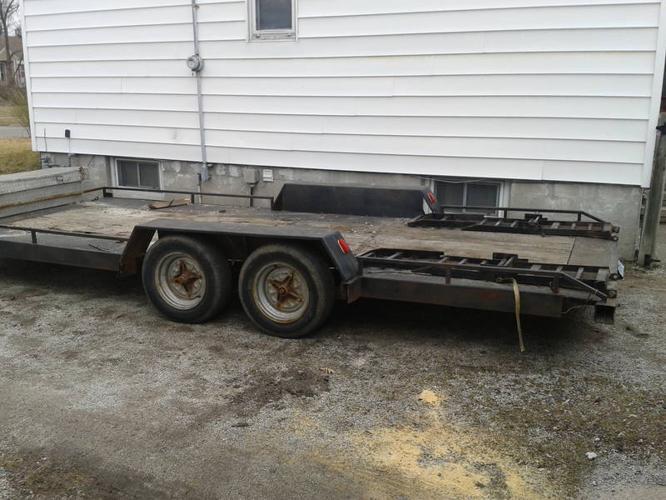 car hauler trailer