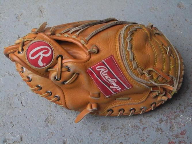Catcher`s Mitt- L.H.catch- Mike Piazza- Rawlings