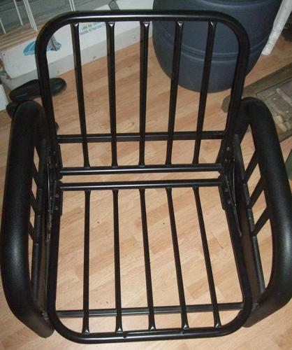 Chair and Couch/Bed Futon Frame Set