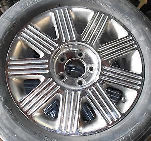 "Chrome Lincoln Town Car Rims 17"" (Ultimate, Cartier)"