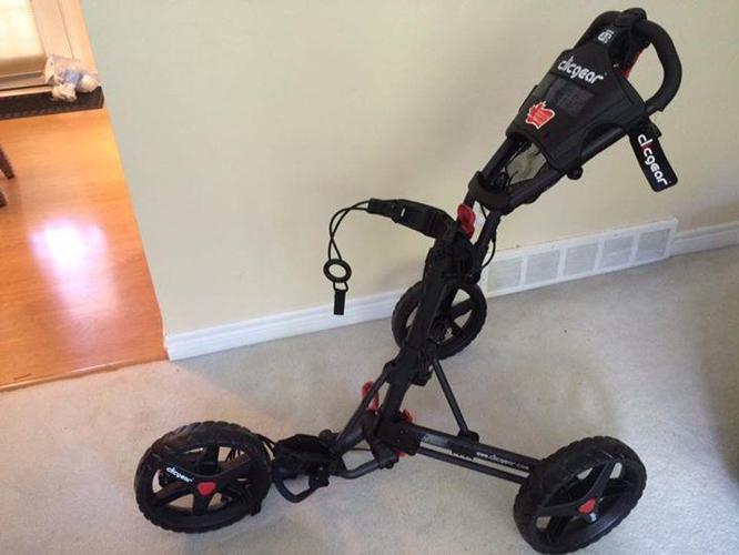 Clicgear 3.5 Golf Push Cart