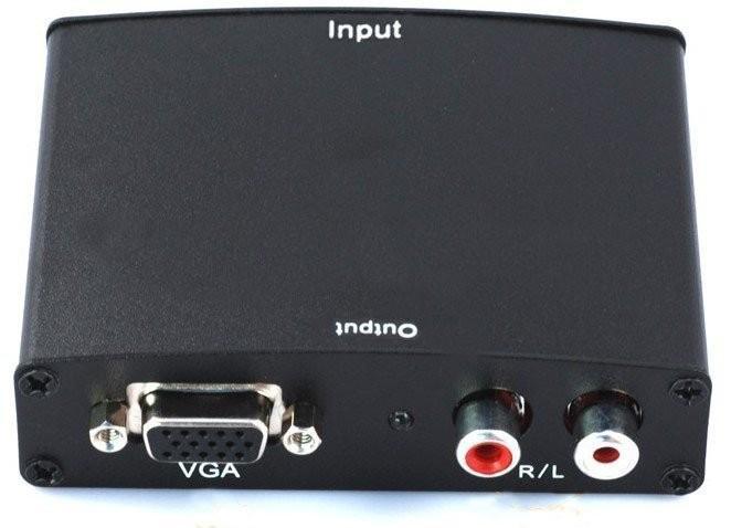 Converter - HDMI to VGA with RCA Audio Output