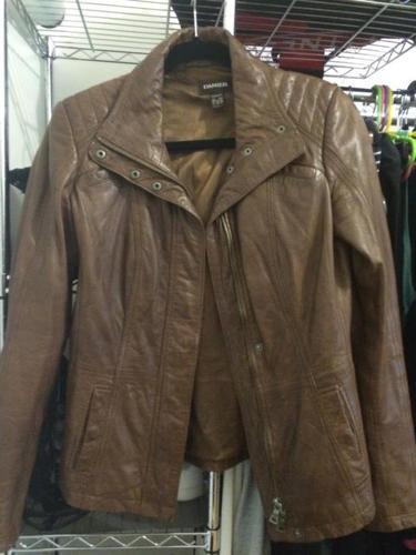 Danier Leather Jacket- Semi Brand New