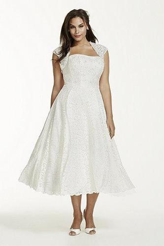 Davids bridal plus size wedding dress for sale