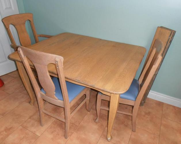 Dining Table and Six Chairs