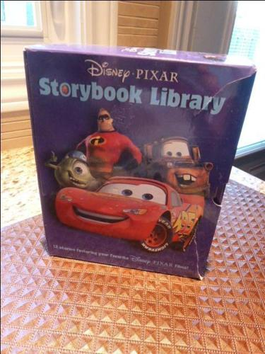 Disney Pixar STORYBOOK LIBRARY Boxed set of 12 books