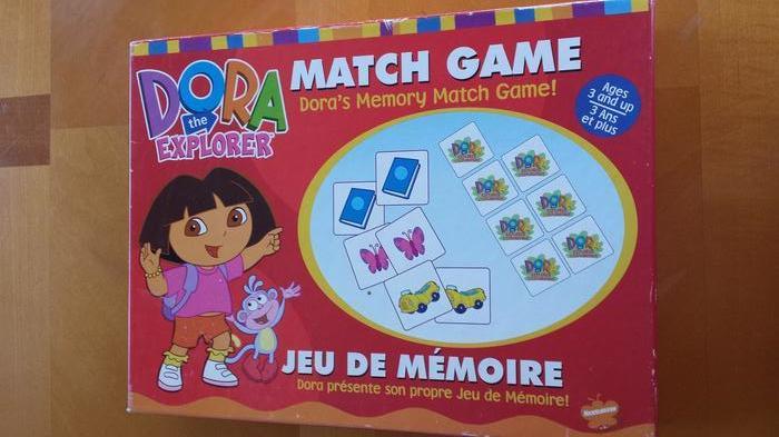 Dora the Explorer Match Game
