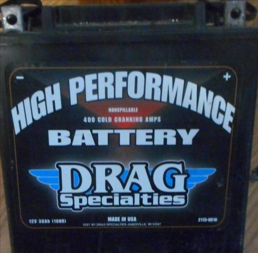 Drag Specialist High Performance Motorcycle Battery