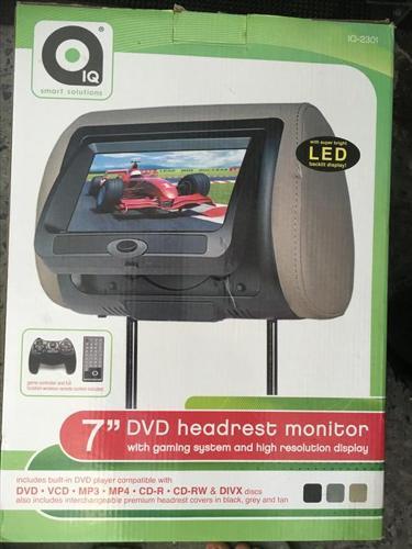 DVD headrest monitor