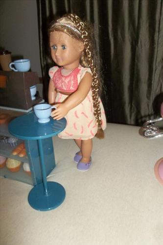 Each! Our Generation Pia Hairgrow Doll, and stylist hair chair.