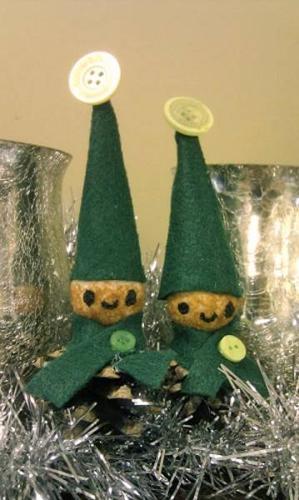 Elves craft decoration