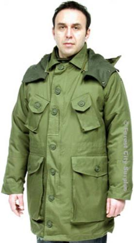 EXTREME COLD CANADIAN ARMY STYLE WINTER PARKAS - New ! for sale in ...