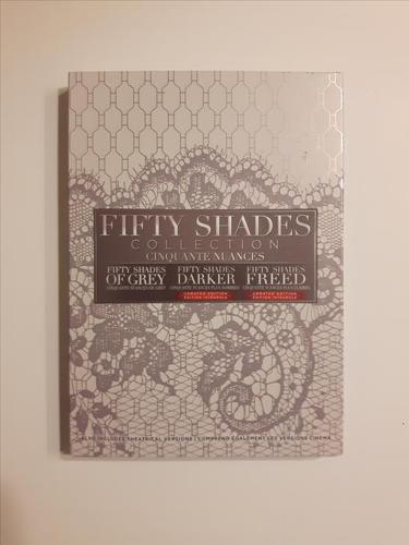 Fifty Shades 3-Movie Collection: Unrated Edition on DVD - Brand New