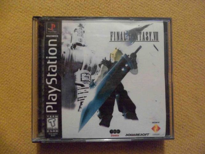 Final Fantasy VII (7) - All Three (3) Original Discs - PSONE