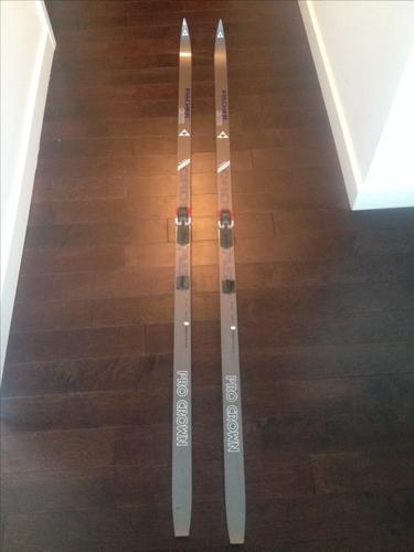 Fischer Pro Crown Original Kronenschliff Cross Country Skis
