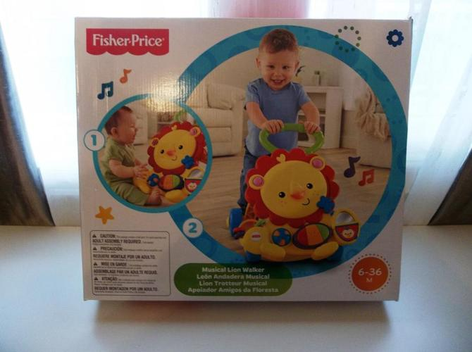 Fisher-Price - Musical Lion Activity Walker Brand New in Box