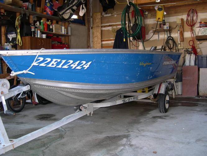 Fishing Boat 12 Foot Aluminum Princess Craft