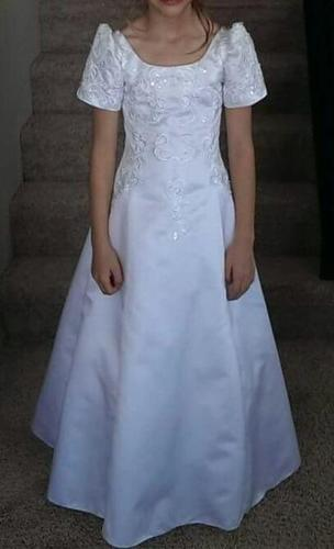 Flower girl/first communion/confirmation dress - size 8