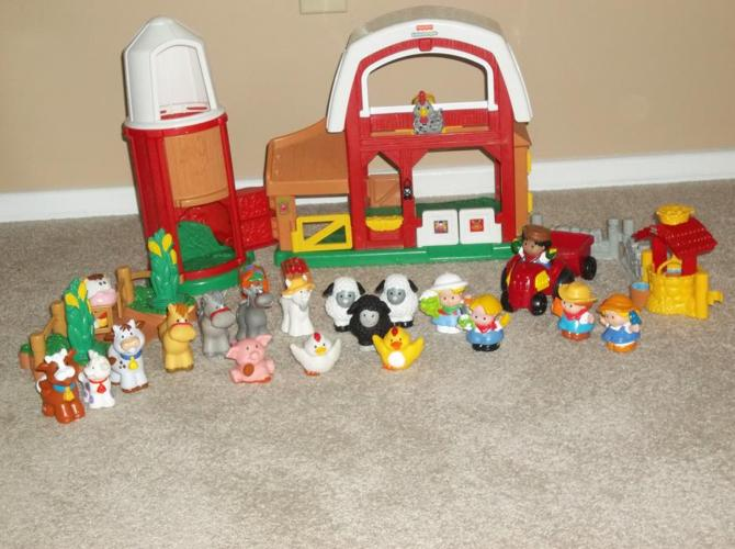 FOR 30 PCS FISHER PRICE LITTLE PEOPLE ANIMAL SOUNDS FARM.