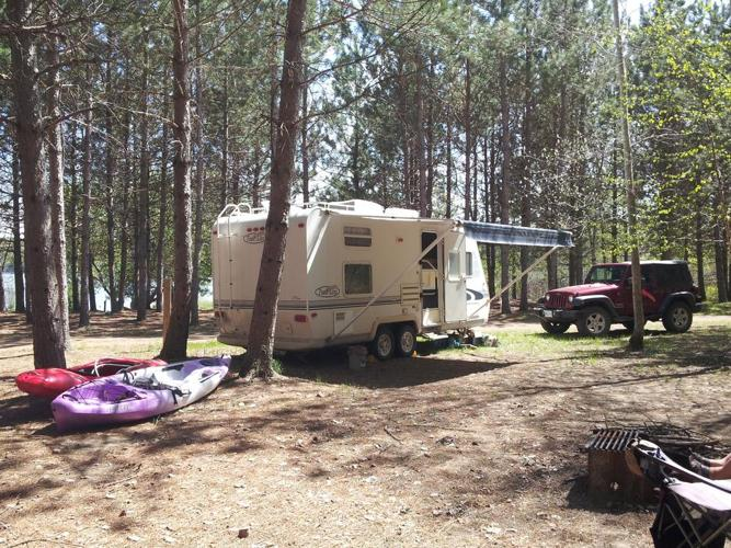 For Sale 2000 Trail Lite Camper