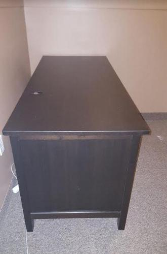 For Sale IKEA Hemnes ~ Computer Desk Blk/Brn ~ $125.00