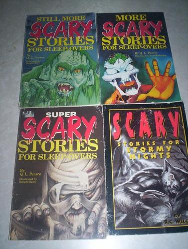 Four Scary Books