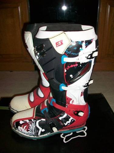 Fox F3 Motocross Boots Size 12