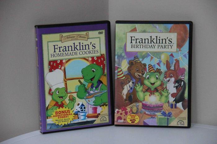 Franklin DVDs - Set of 2