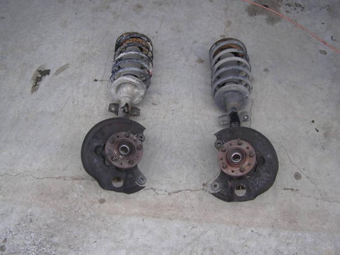 Front end parts for a 1999 to 2003 Ford Windstar
