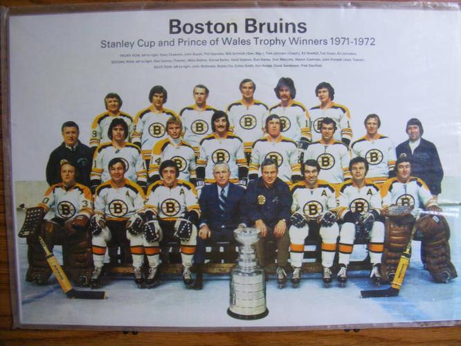 FS: 1971-72 Boston Bruins