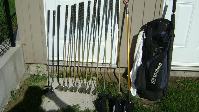 Full set of Men's RH golf clubs