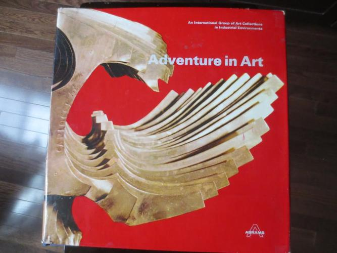 Giant 1973 hardcover book Adventure in Art great illustrations!