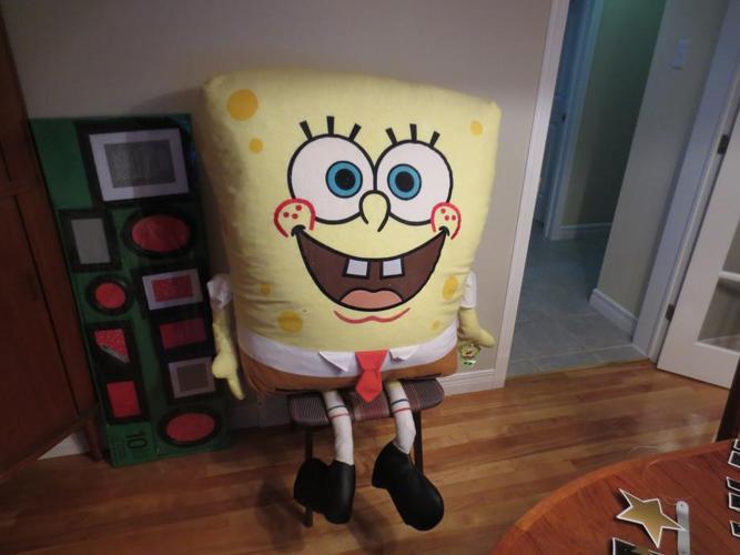 Giant Stuffed Sponge Bob