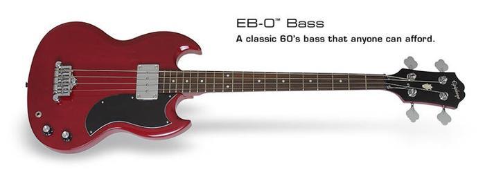 gibson epiphone EB-0 bass guitar