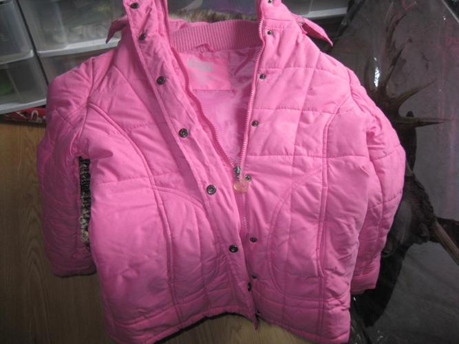 Girls LA SENZA GIRL winter jacket/hood  size Medium