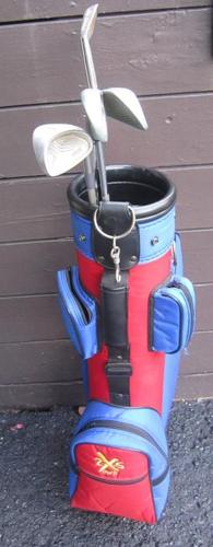 Golf Bag- 4 R.H. Clubs- Kids