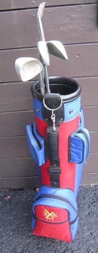Golf Bag- 4 R.H. Clubs- Kids