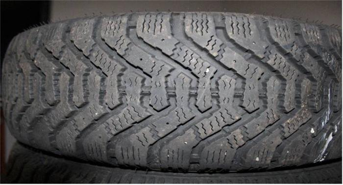 Goodyear NORDIC P205/65 R15 winter tyre for sale used for 1500km