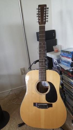 Goya 12 string accoustic guitar model GA 300